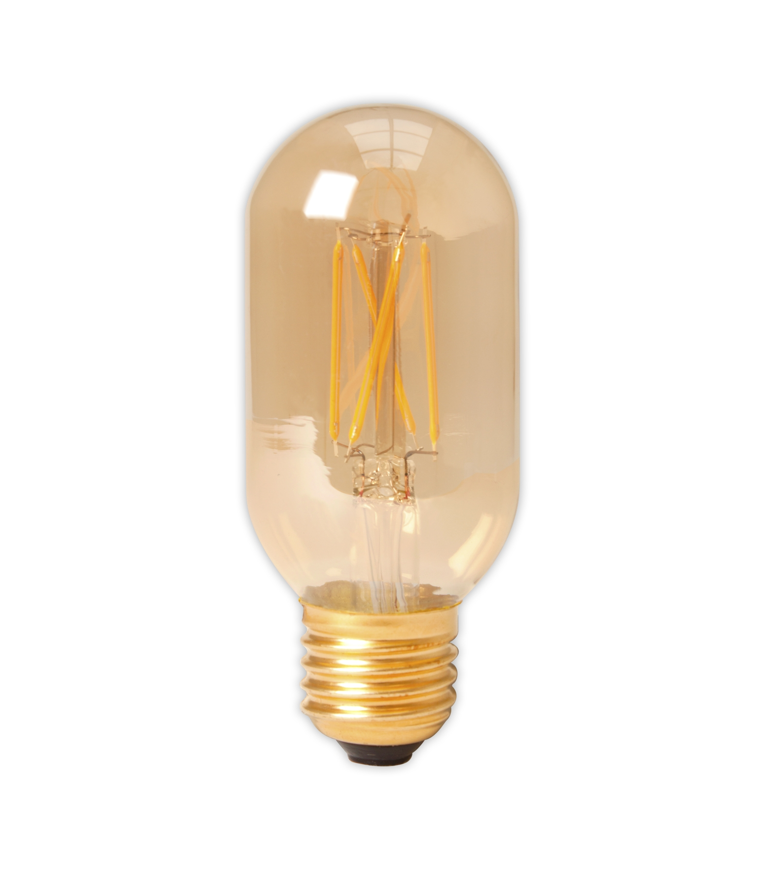 Calex led full glass longfilament globe lamp 240v 4w 320lm e27 calex led full glass filament tubular type lamp 240v 4w 320lm e27 t45x110 gold parisarafo Gallery