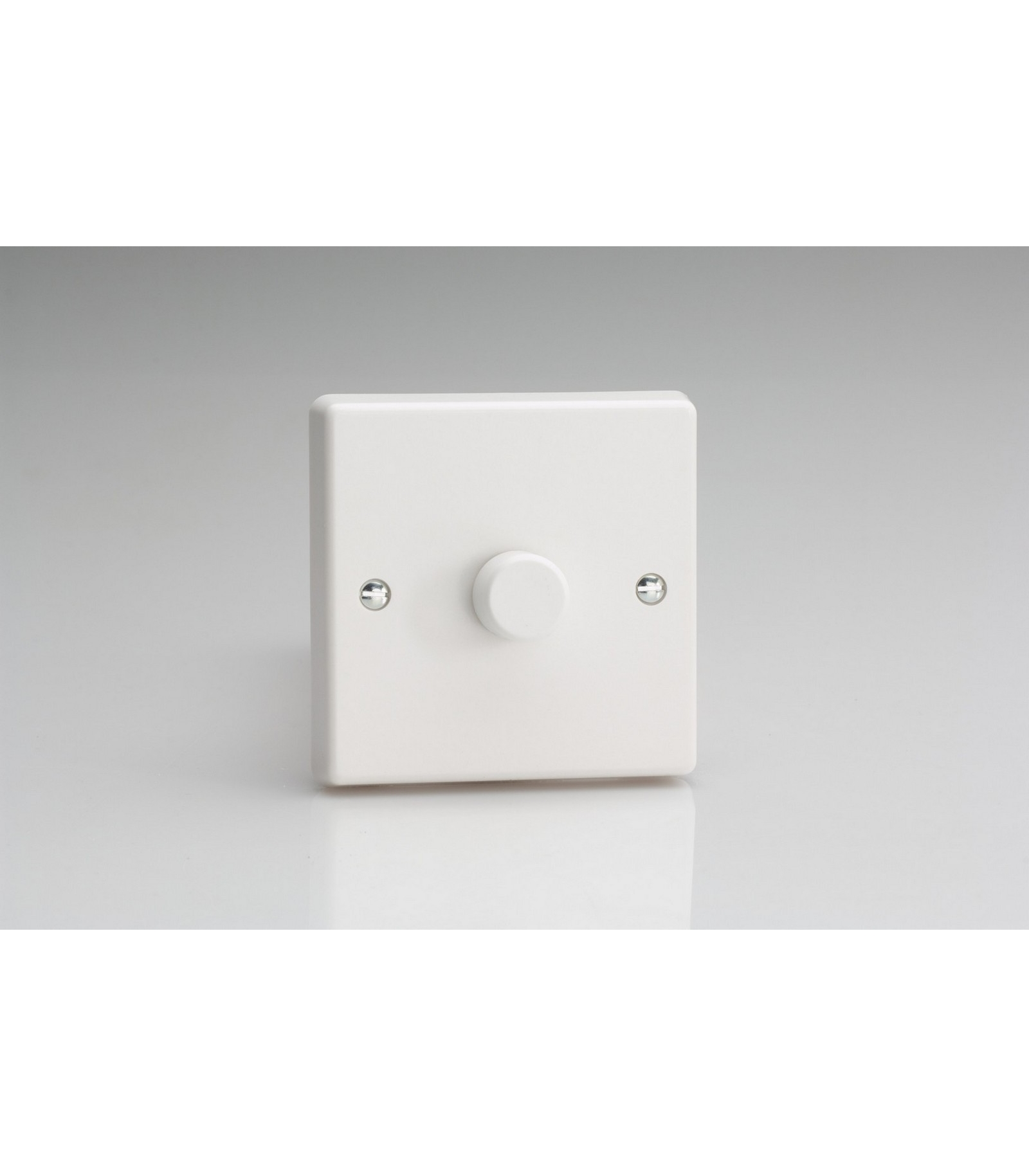 Varilight V-Pro   1-Gang 2-Way Push-On//Off Rotary LED Dimmer Light Switch 1 x 0