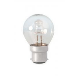 Calex Energy Saving Halogen Ball Lamp 230V 18W(25W) B22 P45 clear