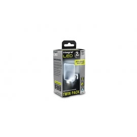 Auto Sensor LED Night Light (UK 3-Pin plug) - Twin Pack