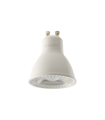 Luceco LED GU10, 5W, 2700K Warm White light & 6500K cool white light, 370 Lumens, Non Dimmable