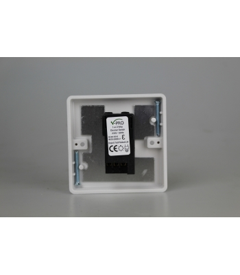 1-Gang 2-Way Push-On/Off Rotary LED Dimmer 1 x 0-120W (1-10 LEDs)