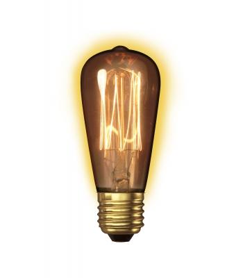 Calex Clear LL Goldline-filament Lamp 240V 40W E27 Rustic ST48
