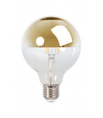 LED filament glob mirror lamp dimmable 240V 4.0W