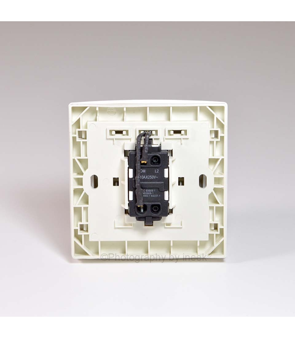1 Gang 1 Way Switch With Led  10ax  Abb