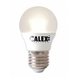 Calex Satin Crystal LED Ball lamp 240V 5,5W 380lm E27 P45, 2000-2700K Variotone