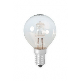 Calex Energy Saving Halogen Ball Lamp 230V 18W(25W) E14 P45 clear