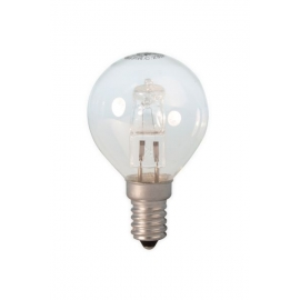 Calex Energy Saving Halogen Ball Lamp 230V 28W(37W) E14 P45 clear