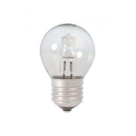 Calex Energy Saving Halogen Ball Lamp 230V 18W(25W) E27 P45 clear