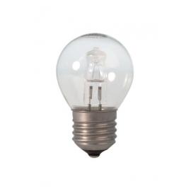 Calex Energy Saving Halogen Ball Lamp 230V 42W(56W) E27 P45 clear