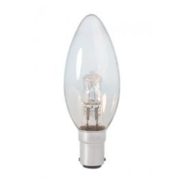 Calex Energy Saving Halogen Candle Lamp 230V 28W(37W) Ba15d B35 clear