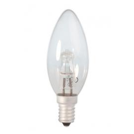 Calex Energy Saving Halogen Candle Lamp 230V 28W(37W) E14 B35 clear