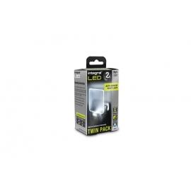 Auto Sensor LED Night Light (UK 3-Pin plug) - Twin Pack
