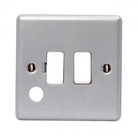 13 A Switched Fused Connection Unit & Optional Cable Outlet - Pack of 10