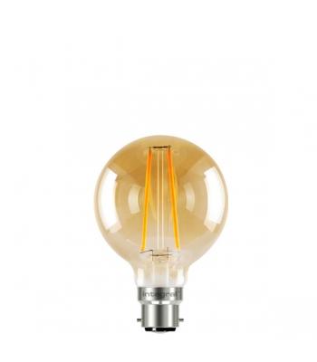 G80 Sunset Filament Globe Lamp 2.5W (40W) 1800K 170lm B22 Non-Dimmable 300 deg Beam Angle