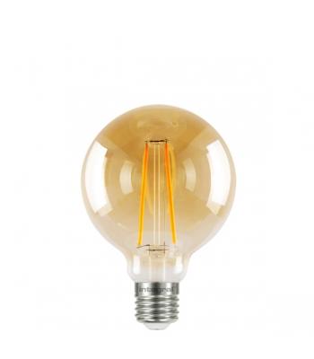 G95 Sunset Filament Globe Lamp 2.5W (40W) 1800K 170lm E27 Non-Dimmable 300 deg Beam Angle