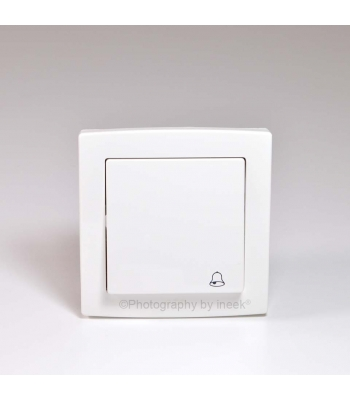 """PUSH SWITCH WITH """"BELL"""" SYMBOL, 10A, ABB"""