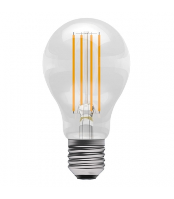 6W LED Dimmable Filament GLS - ES, Clear, 2700K