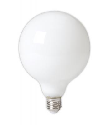 Calex LED Full Glass LongFilament Globe Lamp 240V 8W 900lm E27 GLB125, Softline 2700K Dimmable