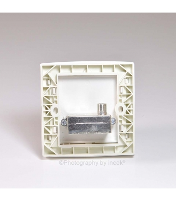 TV & FM OUTLET, F-TYPE DEAD-END-FEEDER, ABB