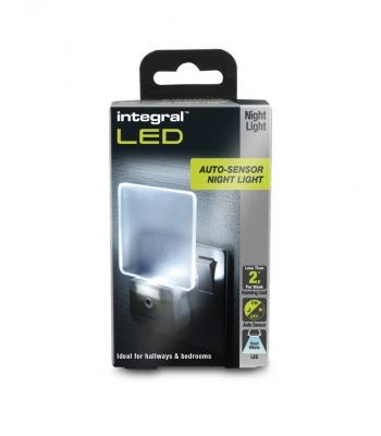Auto Sensor LED Night Light (UK 3-Pin plug)