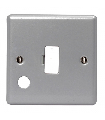 13A Fused Connection Unit & Optional Cable Outlet - Pack of 10