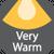 Very Warm - 1800K